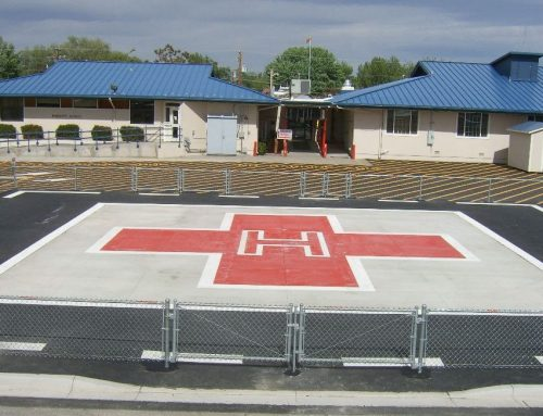 South Lyon Medical Center Helicopter Pad